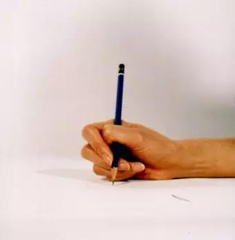 八种错误写字姿势-埋头型