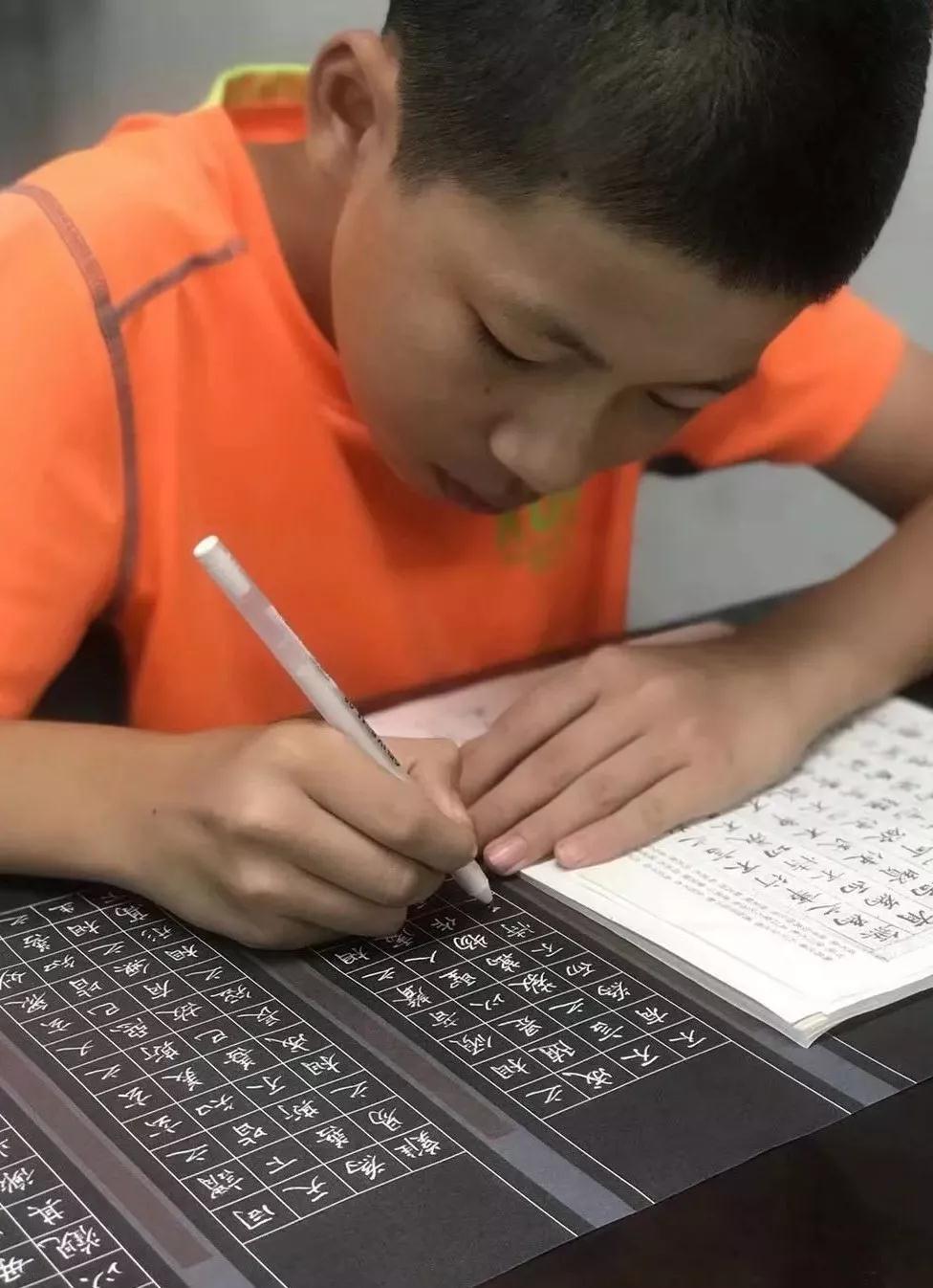 孩子如何练好硬笔字